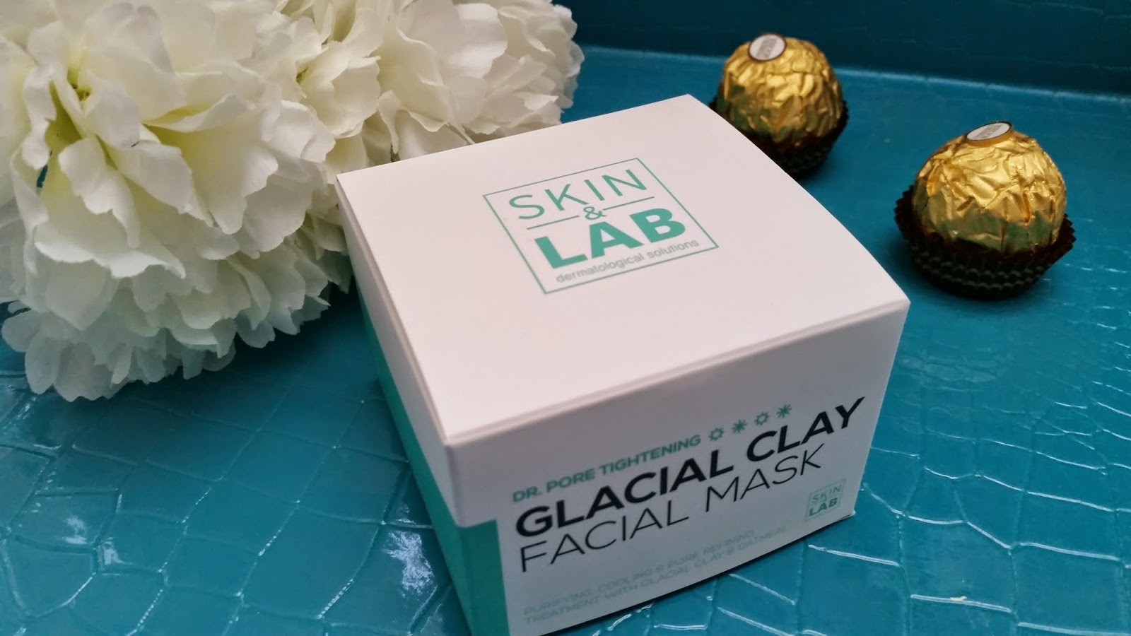 Skin&Lab Dr. Pore Tightening: Glacial Clay Facial Mask outer packaging
