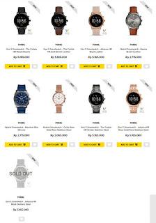 desain fossil gen 5 smartwatch