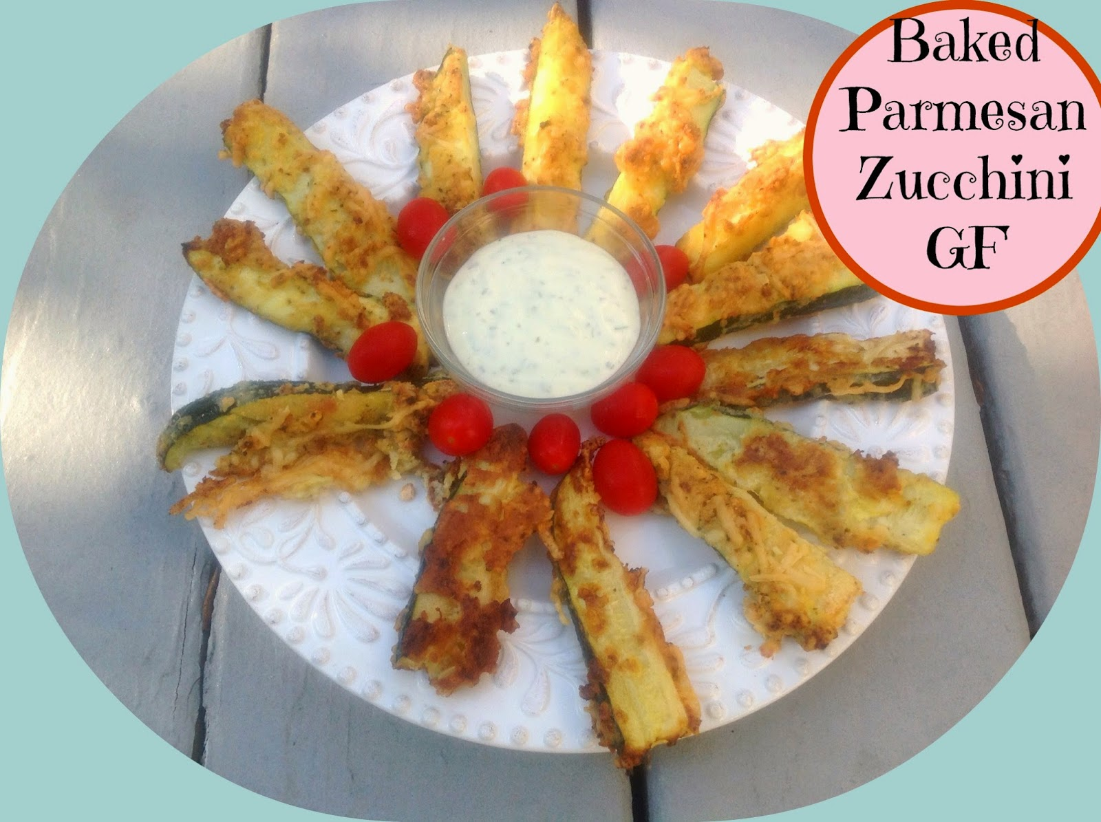 gluten free zucchini cheese stick appetizer
