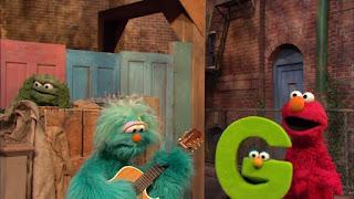 Sesame Street Episode 4306 The Letter G Song, elmo, letter g, rosita, oscar the grouch