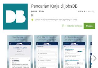 Aplikasi JobsDB