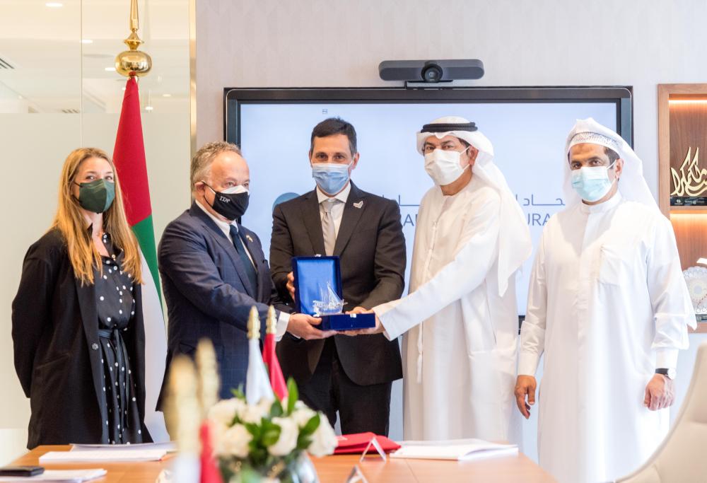 High-level Italian trade delegation meets UAE senior officials