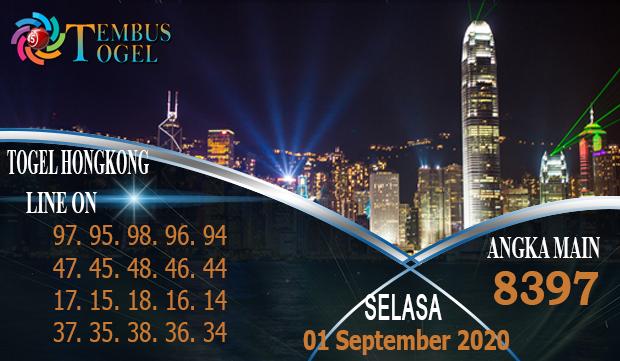 Tembus Nomor Togel Hongkong Selasa 01 September 2020