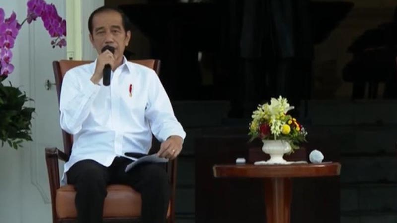 Presiden Jokowi Reshuffle 6 Menteri di Kabinet Indonesia Maju