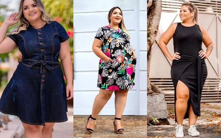 Shafa vestidos plus size