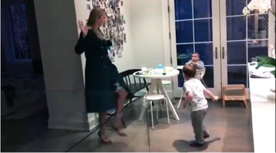 إيفانكا ترامب تحصد ملايين المشاهدات في ساعات قليلة لهذا الفيديو مع أطفالها شاهدوا ما فعلت