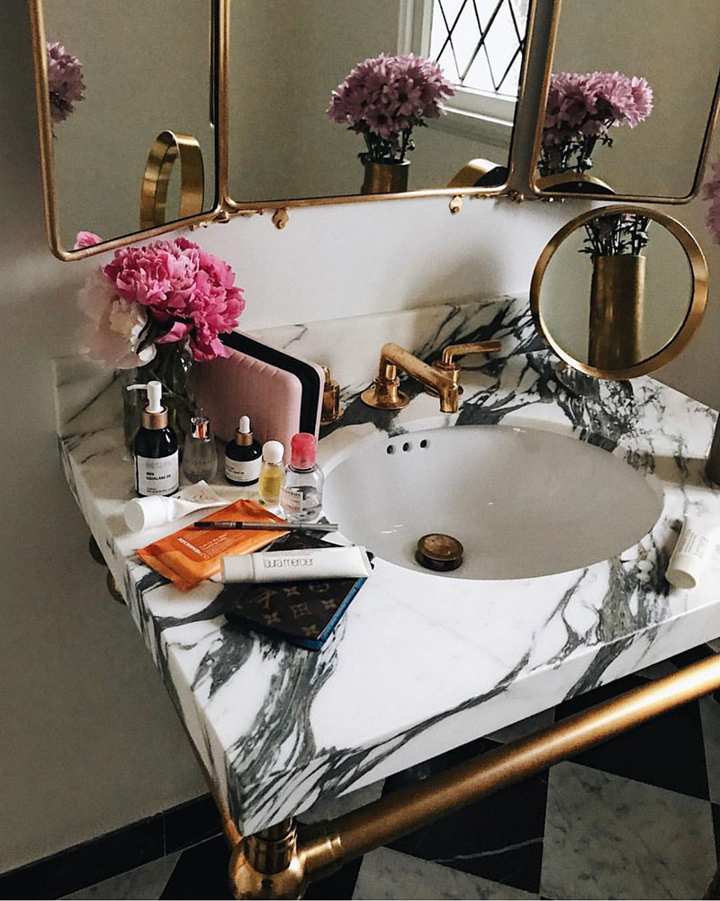 Décor Inspiration: Industrial-Inspired Powder Rooms