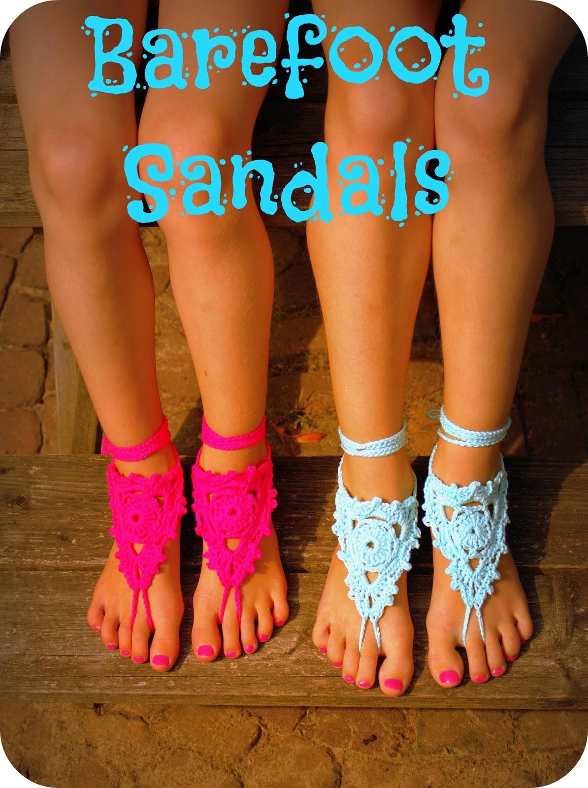 Beroemd HaakKamer7: Blote voeten sandalen / Barefoot Sandals @AI76