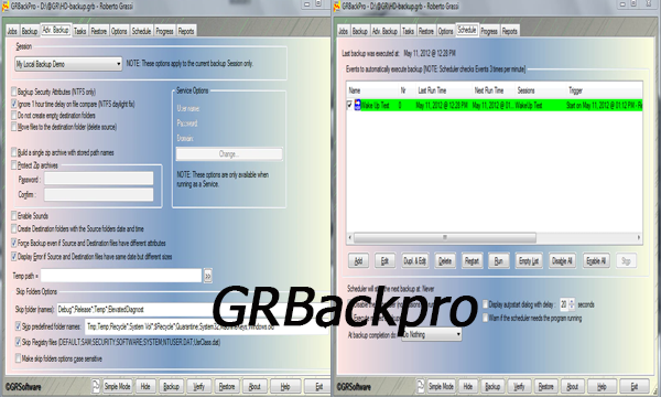 GRBackpro review