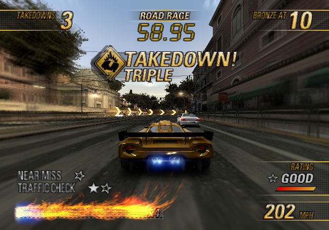 Burnout Revenge PS2 GAME ISO Gameplay 1