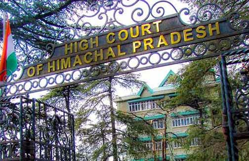 Himachal Pradesh High Court, High Court of Himachal, Himachal HC, World Bank-funded road