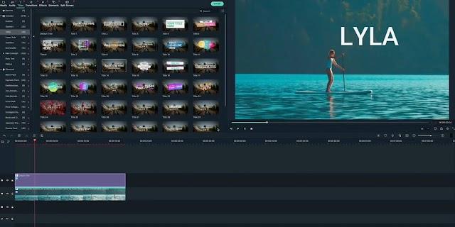 Cara sederhana untuk mengedit video Puluhan efek