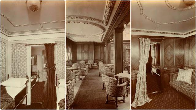 50 Fabulous Photos Show Interior of the RMS Lusitania