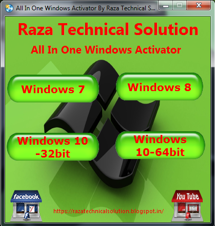 All in one Windows Activator Pack