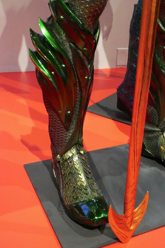 Aquaman movie costume boot