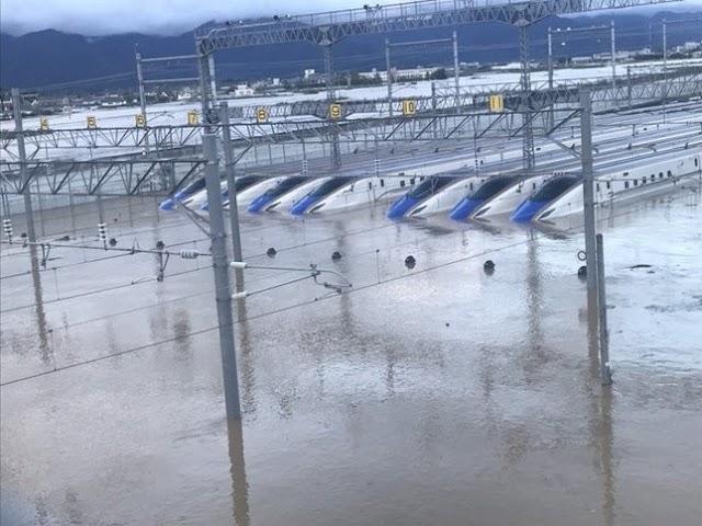 北陸新幹線、車両全体の3分の1が浸水 運行への影響は?