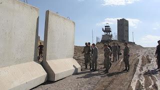 mur sécuritaire à la frontière avec l'Iran