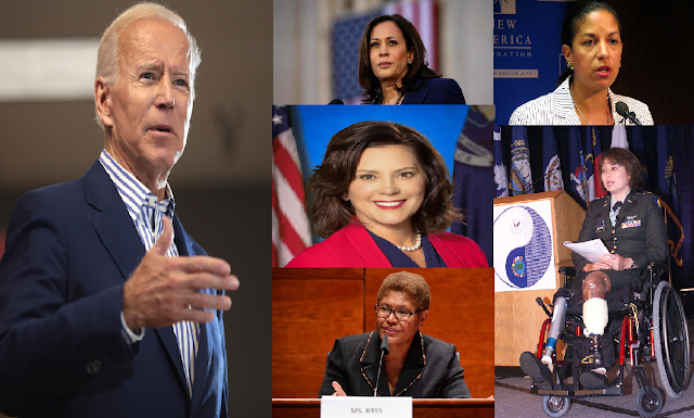 Who is Joe Biden's favorite vice presidential candidate of these five women?