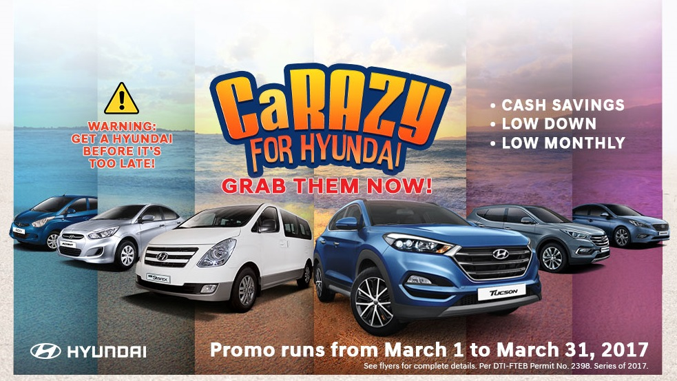 CaRAZY for Hyundai Promo