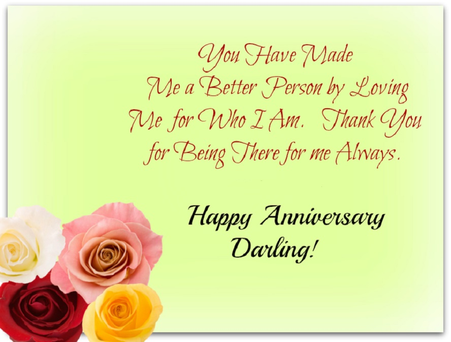 Happy wedding anniversary quotes for him husband