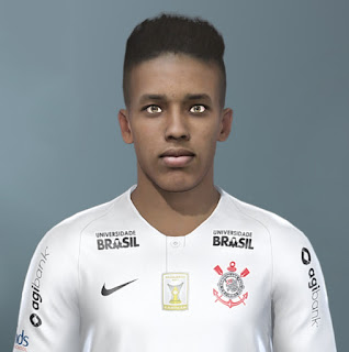 PES 2020 Faces Pedrinho by The White Demon