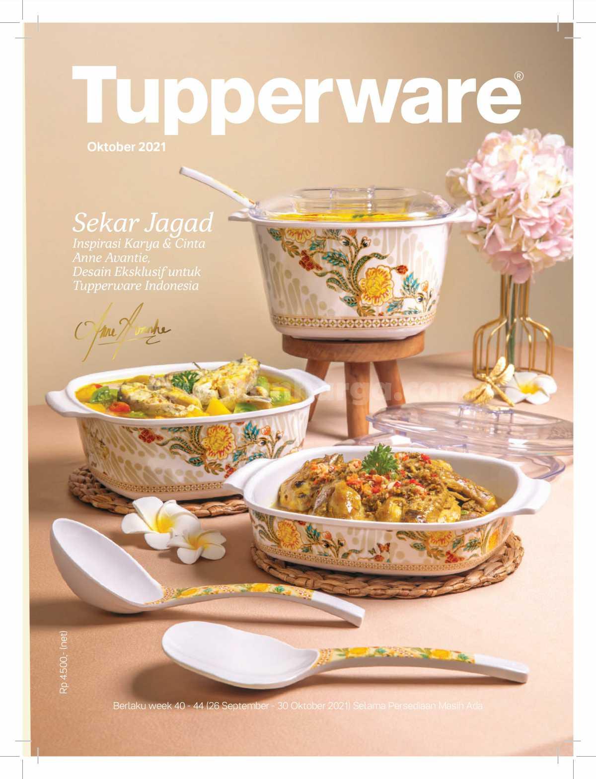 Katalog Tupperware Promo Terbaru Oktober 2021