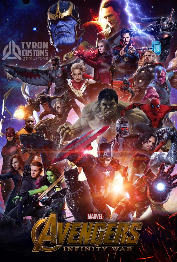 Avengers Infinity War 2018 480p 450MB