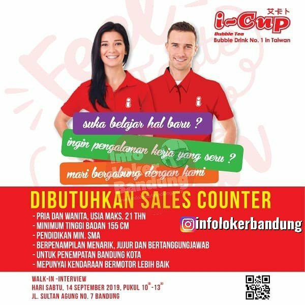 Lowongan Kerja I Cup Bubble Drink ( Walk In Interview )14 September 2019