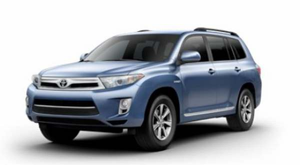 electric cars toyota 39 s voluntary recall for highlander hybrid lexus rx 400h. Black Bedroom Furniture Sets. Home Design Ideas