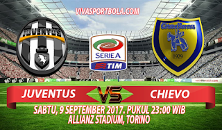 Prediksi Juventus vs Chievo 9 September 2017