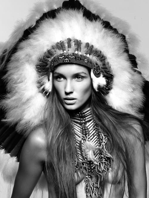 Headdress Moodboard Tribal Inspired