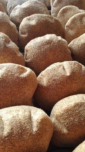 طريقة عمل العيش السن (الرده) زي المخبز للديت
