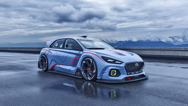 High-performance Hyundai RN30 Concept