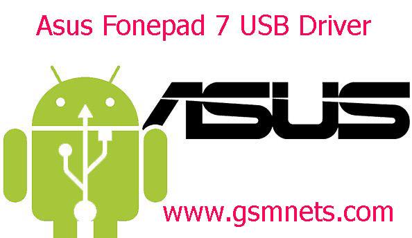 Asus Fonepad 7 USB Driver Download
