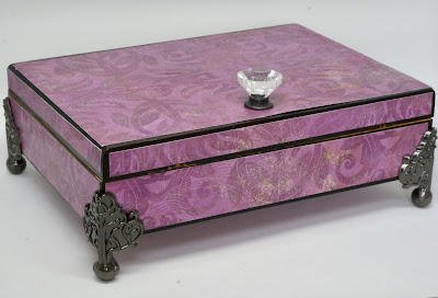 Purple box by BayMoonDesign