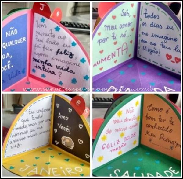 cartão fofo para o namorado