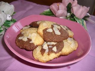 Biscuit marbrés vanille chocolat