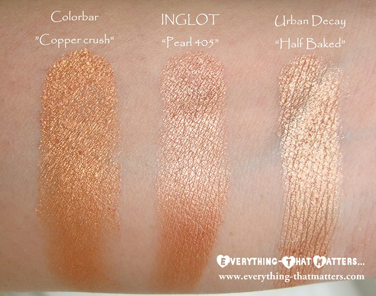 Perfect MAC Amber Lights Dupe? INGLOT Freedom System Eyeshadow  Design
