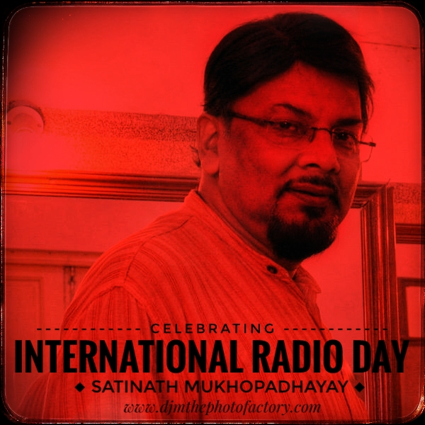 FM radio jockey on National Radio day August 20