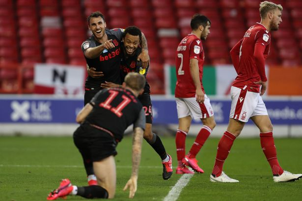 Video Nottingham Forest 1-4 Stoke city