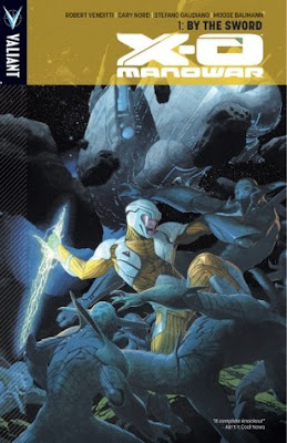 X-O Manowar, Volume 1: By The Sword (X-O Manowar #1), Cary Nord, Moose Baumann, Robert Venditti, Stefano Gaudiano, Comic Review, InToriLex