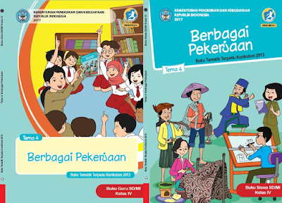 download contoh format RPP Kelas 4 Semester 1 Tema 4 Kurikulum 2013 Revisi 2018 Subtema 1 2 3 4 Pembelajaran 1 2 3 4 5 6