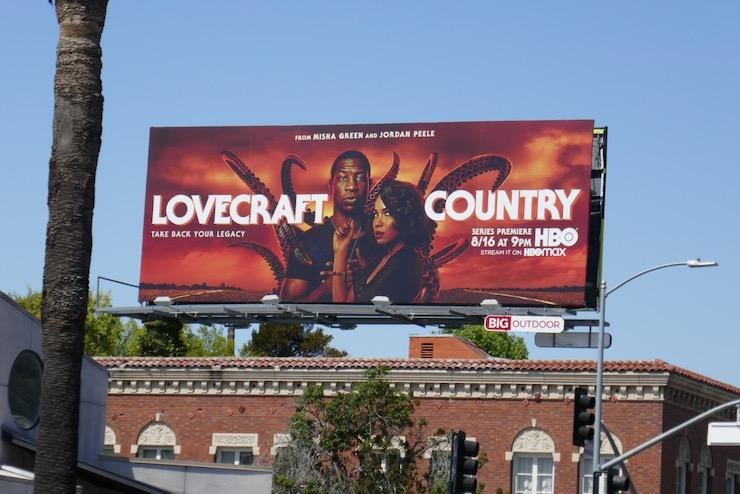 Lovecraft Country season 1 billboard