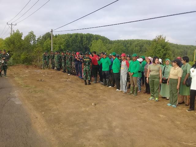 Peduli Generasi, Kodim Tanam 2.000 Pohon Manggrove