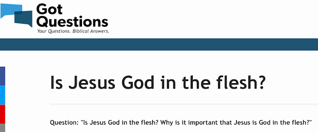 Is Jesus God in the flesh?