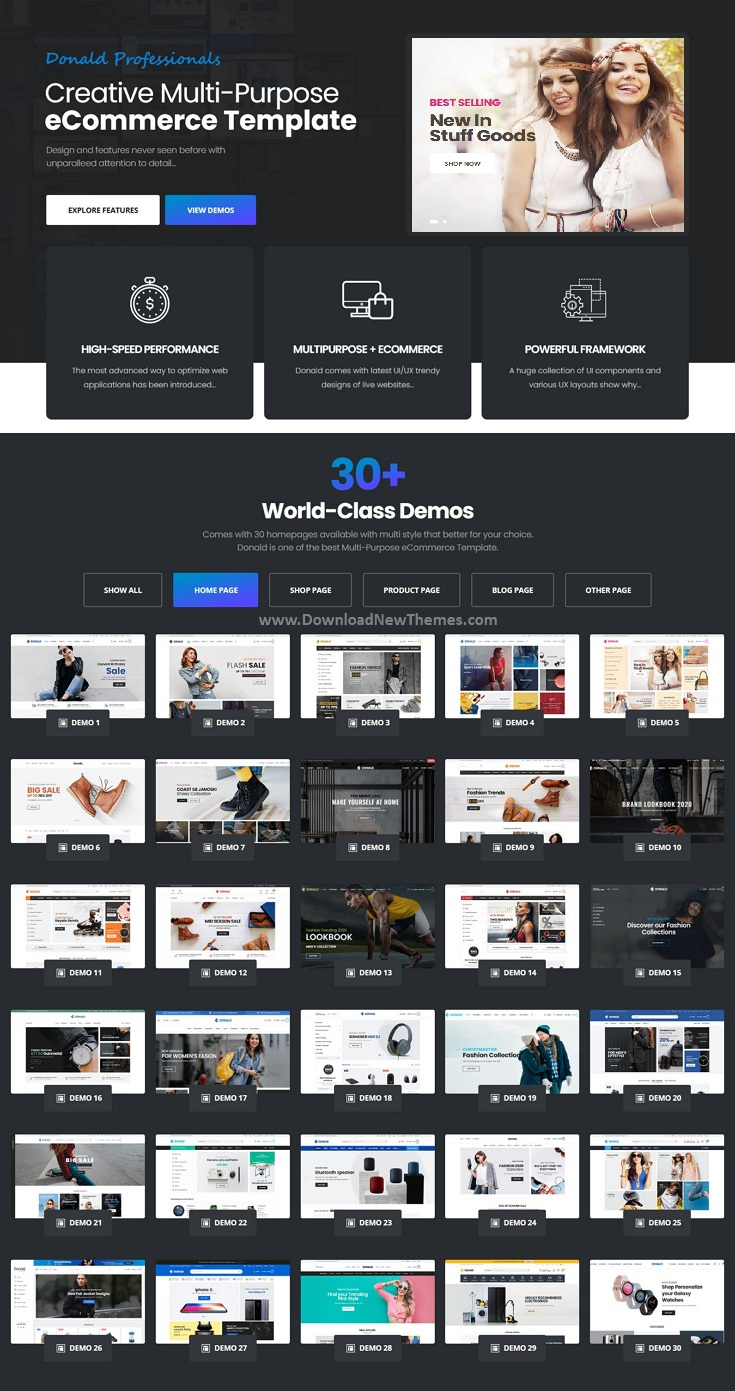Ultimate eCommerce HTML Template