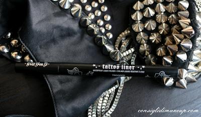 Anteprima Kat Von D Sephora Italia tattoo liner trooper black eyeliner haul opinioni