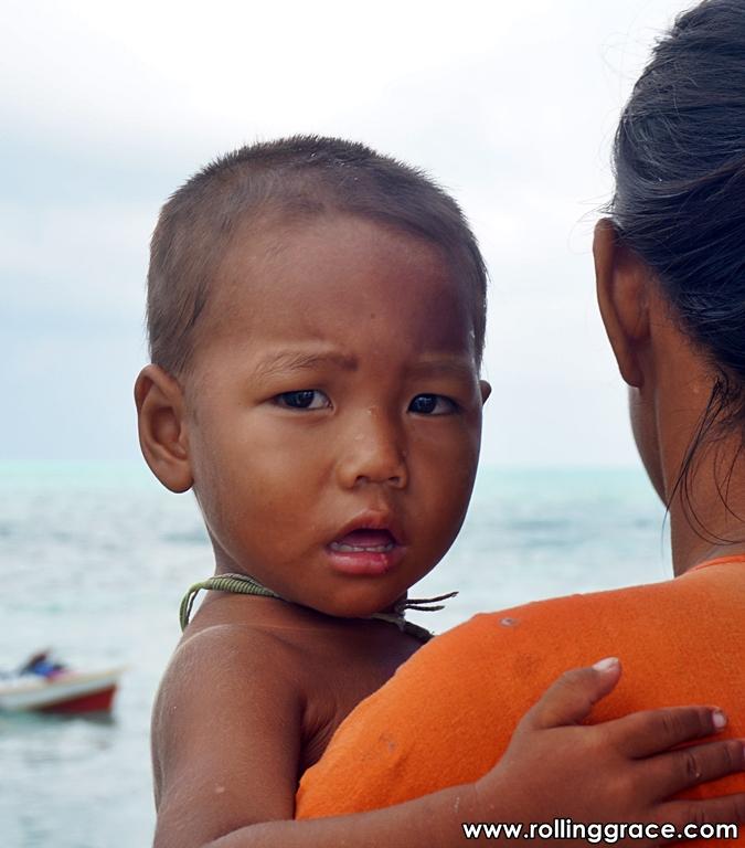 Bajau Laut or Sea Gypsies of Sabah borneo