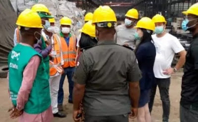 FG Raids Chinese Company In Aba, Over Abuse Of Nigerian Workers