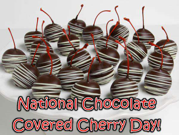 National Chocolate Covered Cherry Day Wishes pics free download